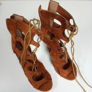 Shoe Republic LA Lace up Heel
